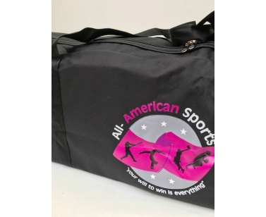 All-American Sports Personel Equipment Bag - Black - XLarge