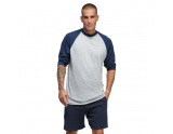 soffe-classic-heathered-baseball-t-shirt-oxford-grey-navy-small