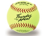 dudley-4a-147y-softball-game-ball-thunder-heat-yellow-12-inch