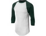 soffe-raglan-baseball-under-shirt-dark-green-small