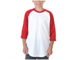 badger-sport-3-4-sleeve-boys-baseball-jersey-white-red-youth-small