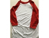 russell-athletic-3-4-sleeve-baseball-jersey-white-red-small