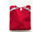 russell-athletic-baseball-fleece-pullover-sweater-red-grey-large