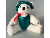 dreamlight-gym-bear-with-leotard-and-hairscrunchie-12-inch-teal