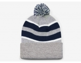 pacific-headwear-641k-pom-pom-cuff-beanie-heather-navy-white-osfm