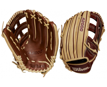 Wilson A2000 1799 Outfield Baseball Glove - Brown/Blonde - 12,75 inch