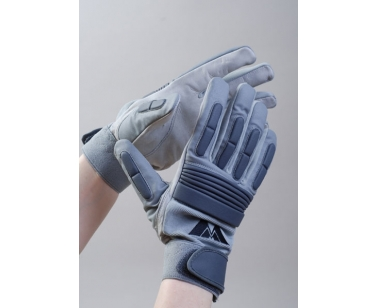 MM Football Lineman Gloves - Black - Large