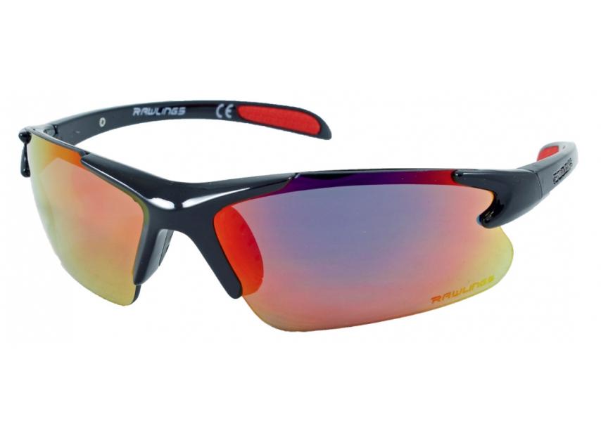16dadbd56c8b0 Rawlings RY 103 Youth Baseball Sunglasses - Black Red - Youth
