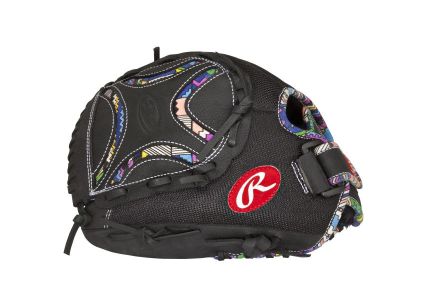 5199355bda605 Rawlings Champion Lite Softball Glove - 12 inch - Black - LHT