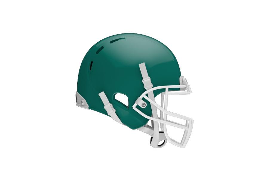 Xenith X2e Adult Football Helmet Dark Green L All American Sports